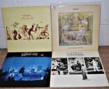 A lot of four original Genesis albums