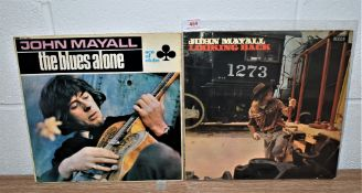 A lot of two John Mayall albums