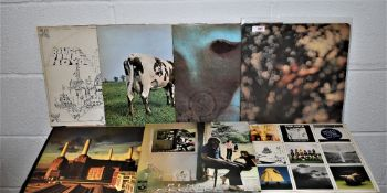 A lot of Pink Floyd albums - six in total
