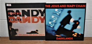 A lot of two original albums by The Jesus and Mary Chain