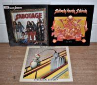 A lot of three NEMS Black Sabbath pressings