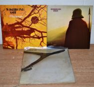 A lot of three Wishbone Ash albums - prog rock interest with early press included - some age