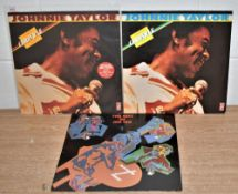 A lot of three Soul albums - 2 by Johnnie Taylor and 1 by Joe Tex - Stax label interest