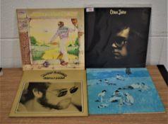 A lot of 4 early Elton John albums