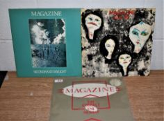 A lot of three albums by the great post punk band Magazine