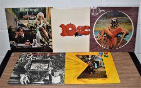 A lot of four original album by 10cc