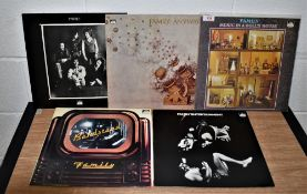 A lot of five Family repressings in Ex condition - great UK underground rock