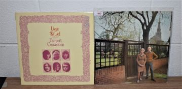 A lot of 2 Fairport Convention repressings in ex shape -great UK folk rock