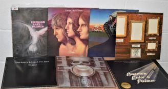A lot of seven ELP albums - prog rock interest
