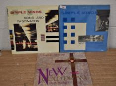 A lot of three Simple Minds album