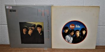 A lot of two original Buzzcocks showing some sleeve wear - UK pressings on United Artists - vinyl