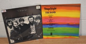 A lot of two albums by the Band