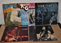 A lot of Rory Gallagher and Taste albums