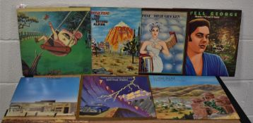 A lot of Little Feat and related albums