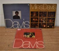 A lot of 3 Miles Davis albums