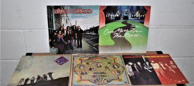A lot of five Lynyrd Skynrd albums