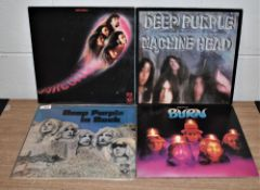 A lot of four early press UK Deep Purple pressings
