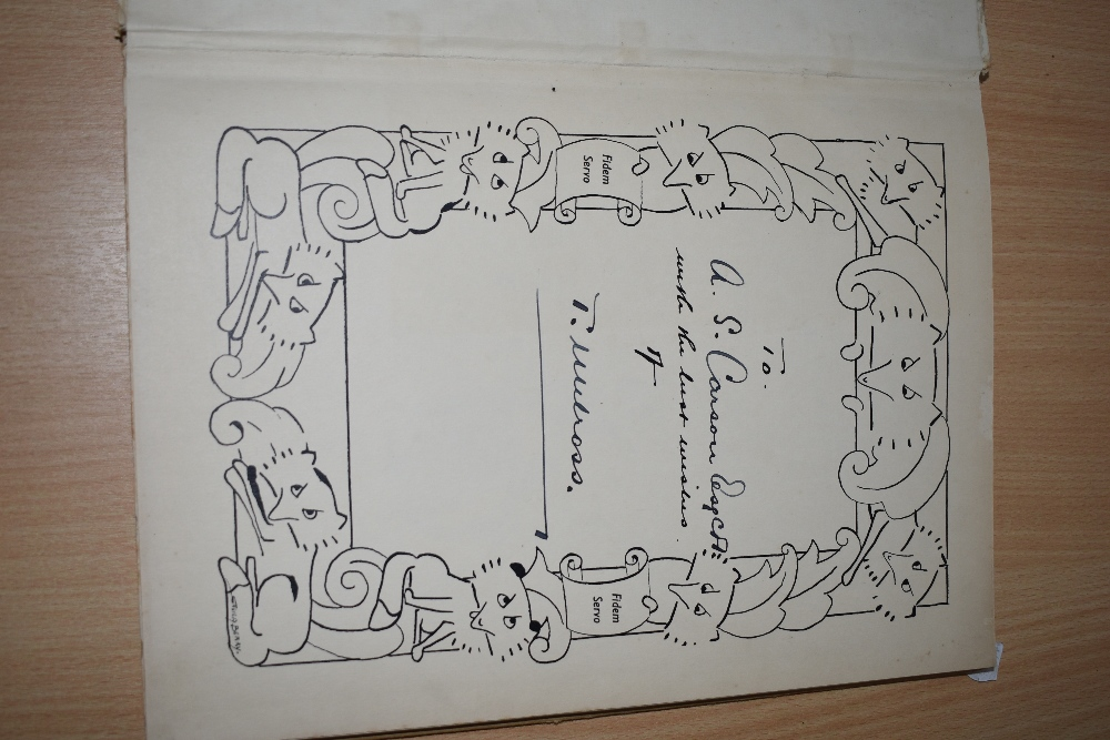 Presentation copy. Melross, T. - The Argosy of the Nithsdale Silver Foxes. Privately published, - Image 2 of 3