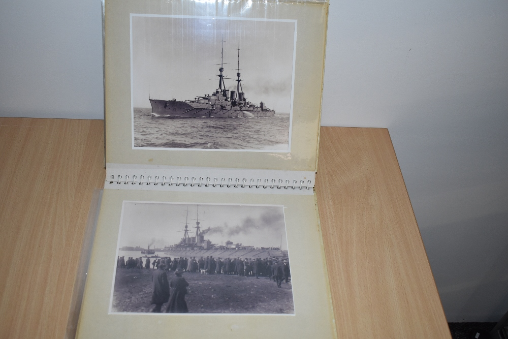 Postcards and Photographs. A selection of albums, predominately postcards. Much Maritime and - Image 13 of 13
