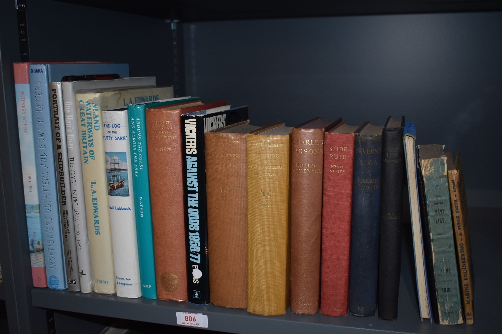Maritime and Shipbuilding. A selection, includes; Lonsdale Library volumes XV and XIX; Basil