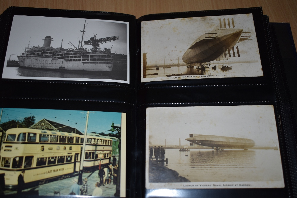 Postcards and Photographs. A selection of albums, predominately postcards. Much Maritime and - Image 7 of 13