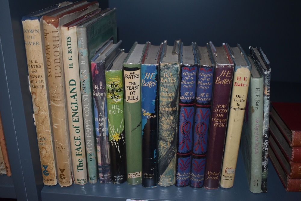 Literature and related. H. E. Bates. A selection, first editions in dust wrappers. Condition