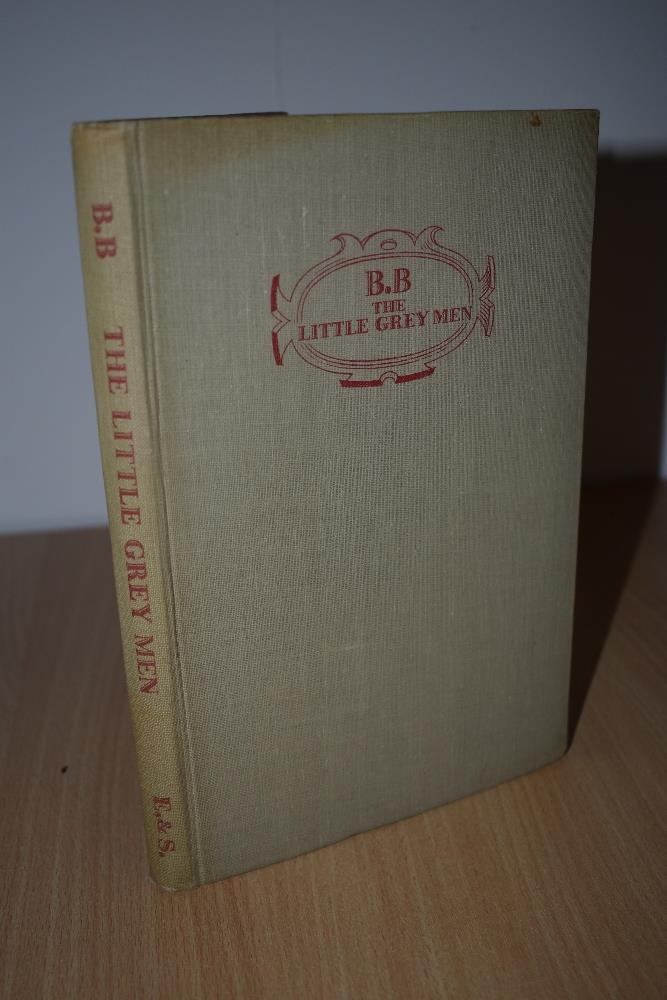 Children's. 'BB' [Denys Watkins-Pitchford]. The Little Grey Men. London: Eyre and Spottiswoode.