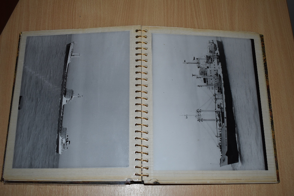 Postcards and Photographs. A selection of albums, predominately postcards. Much Maritime and - Image 8 of 13