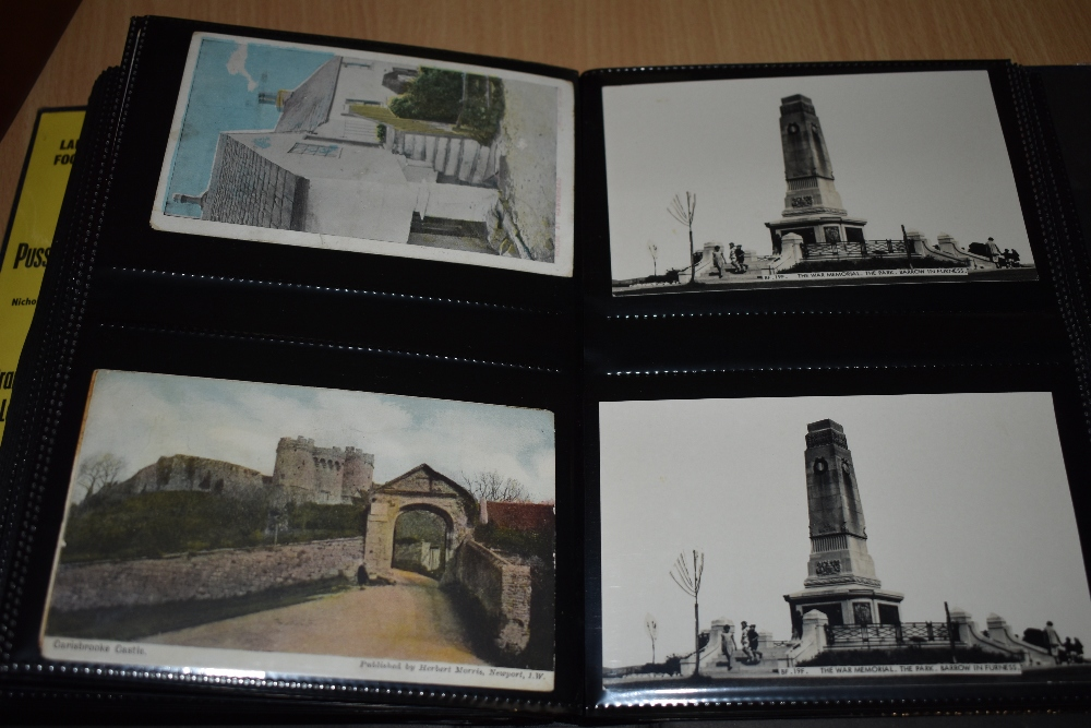 Postcards and Photographs. A selection of albums, predominately postcards. Much Maritime and - Image 5 of 13