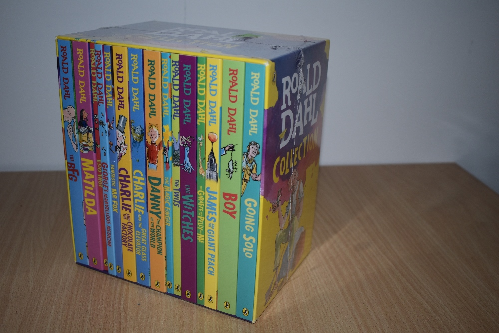 Children's. Roald Dahl Collection. Puffin Books, 2016. Box set of softbacks, 15 titles in total.