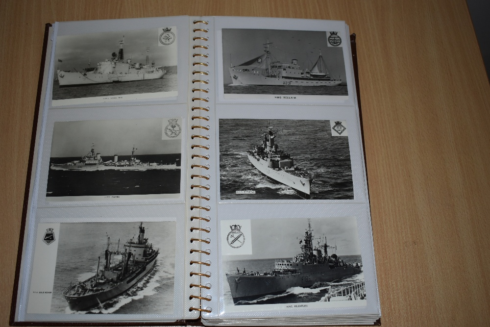 Postcards and Photographs. A selection of albums, predominately postcards. Much Maritime and - Image 10 of 13