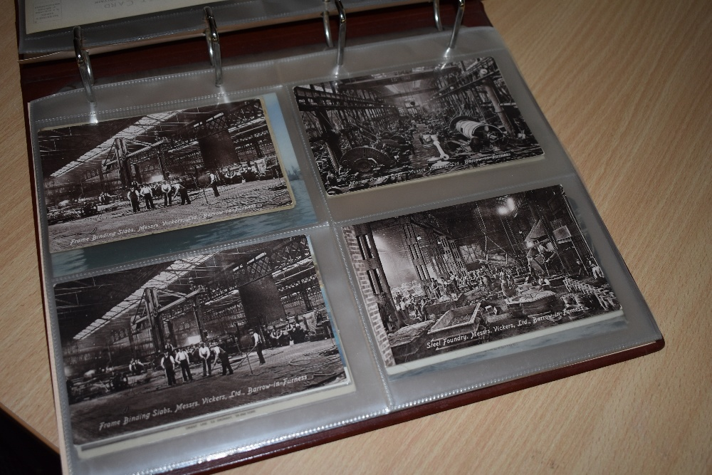Postcards and Photographs. A selection of albums, predominately postcards. Much Maritime and - Image 9 of 13