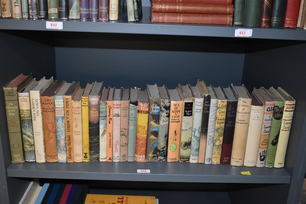 Literature. 20th century miscellany. All in dust wrappers, mixture of first editions and early