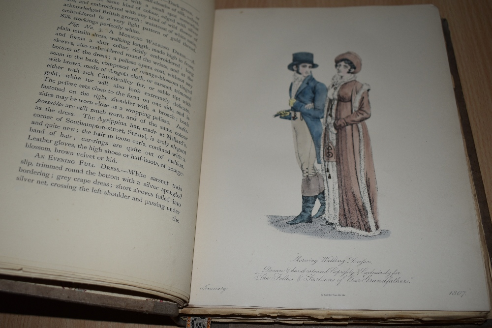 Limited edition. Tuer, Andrew W. - The Follies & Fashions of Our Grandfathers (1807). London: - Image 2 of 3