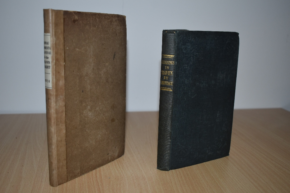 Antiquarian. Craven. Montagu, F. - Gleanings in Craven: in a Tour from Bolton-Abbey to Ambleside.