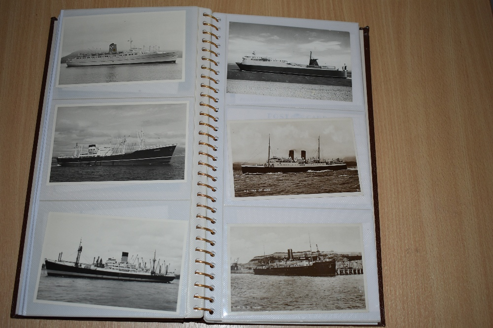 Postcards and Photographs. A selection of albums, predominately postcards. Much Maritime and - Image 11 of 13