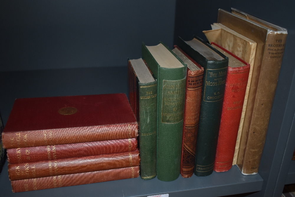 Literature. Late 19th and early 20th century miscellany. Includes; Rudyard Kipling; Rolf