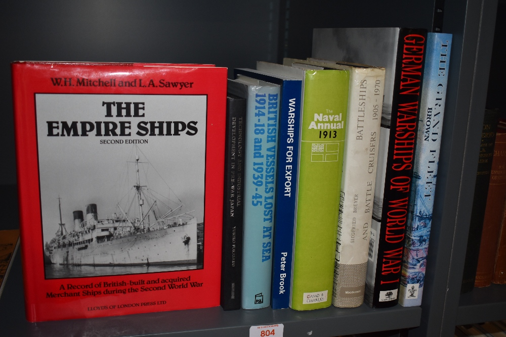 Naval. Warships and Battleships. A selection. (8)
