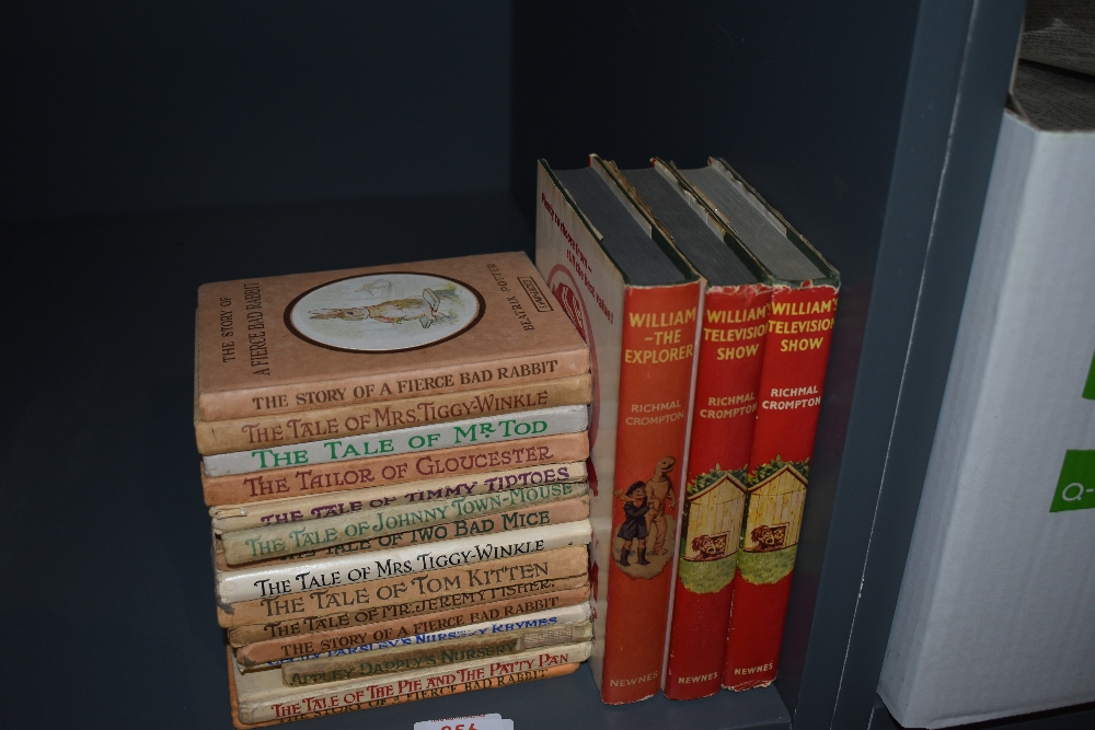 Children's. Three Richmal Crompton 'William' novels in dust wrappers (1st editions 1958/1960);