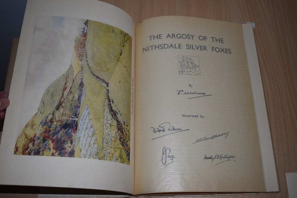 Presentation copy. Melross, T. - The Argosy of the Nithsdale Silver Foxes. Privately published, - Image 3 of 3
