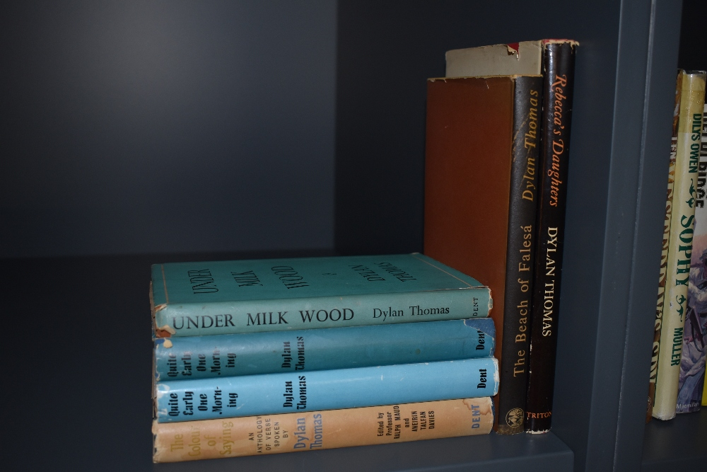 Literature and Poetry. Dylan Thomas. A selection, includes; Under Milk Wood, 3rd impression 1954;