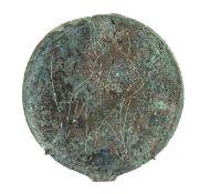 ETRUSCAN BRONZE MIRROR 4th - 3rd century BC
