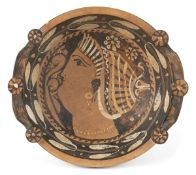 PROTO-LUCANIAN RED-FIGURE PHIALE 4th century BC