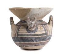 DAUNIAN OLLA Apulia, Subgeometric Period I, ca. 550 - 400 BC