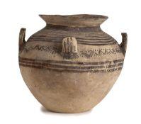 DAUNIAN OLLA Apulia, Subgeometric Period III, ca. 400 - 300 BC