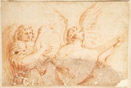 EMILIAN SCHOOL, 17th CENTURY - Couple of angels