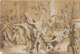 ROMAN SCHOOL, SECOND HALF OF THE 18th CENTURY - Martyrdom of Saint Andrew
