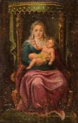 EMILIAN SCHOOL, SECOND HALF OF THE 16th CENTURY - Madonna with Child