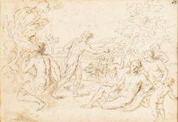 ROMAN SCHOOL, SECOND HALF OF THE 17th CENTURY - Mytological scene