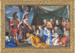FRENCH SCHOOL, 18th CENTURY - Alexander and the family of Darius